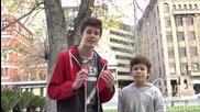 12 годишен пушач (социален Експеримент)