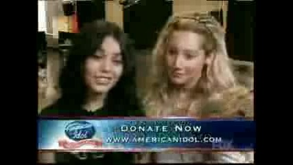 Ashley & Vanessa - Idol Gives Back (04 - 09