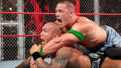 John Cena vs. Randy Orton – WWE Championship Hell in a Cell Match: Hell in a Cell 2009
