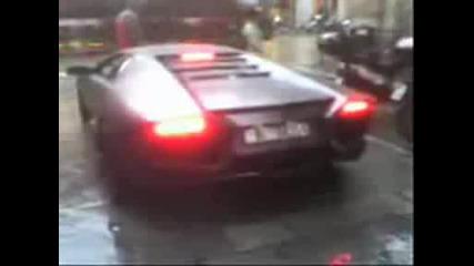 Lamborghini Reventon On The Road
