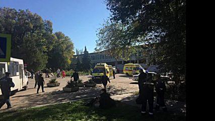 Russia: At least 13 dead in Kerch 'terror attack'