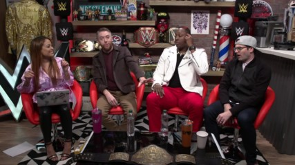 WWE's The Bump streams live tomorrow morning