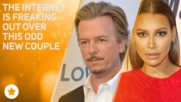 Naya Rivera & David Spade are confusing EVERYONE
