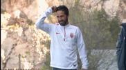 Бербатов и компания тренират в Монако