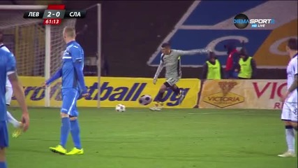 Левски - Славия - Второ полувреме (29.11.2015)