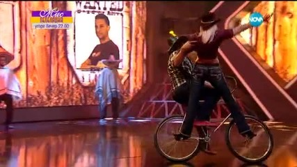 Ники Мартинов и Камен - Велофигуристика - И аз го мога (08.04.2015)