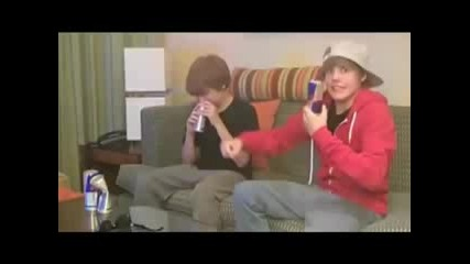 Red Bull Boy - Justin Bieber and Christian Beadles