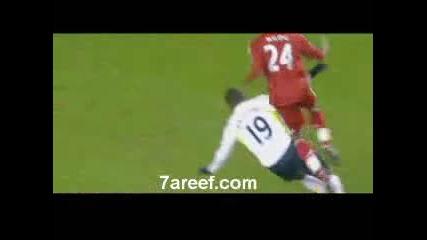 20.01.2010 - Ливърпул - Тотнъм 2 - 0 Два гола на Дирк Каут