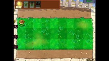 Plant vs Zombie Gameplay