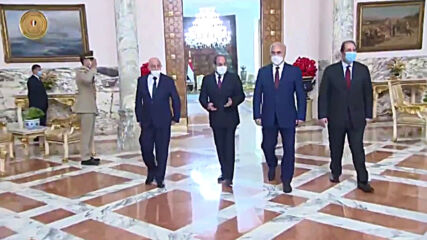 Egypt: Al-Sisi meets with Haftar and Saleh to discuss developments in Libya