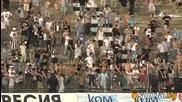 Край на мача в Пловдив,  агитките изпращат отборите с аплодисменти