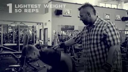 Kris Gethin 12 Weeks Trainer - Week 12 - Day 79 - Tuesday