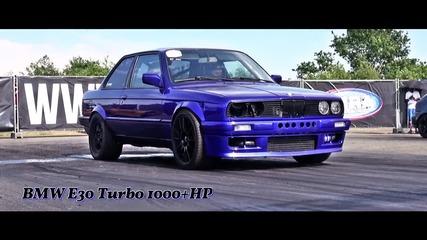 Най - бързото Bmw в Германия: E30 3,6l Turbo 1050hp