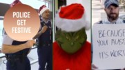 Actually good! The world's top 5 Police holiday videos for 2018