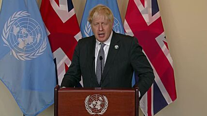 UN: UK's relationship with France 'indestructible' says Johnson amid Aukus row
