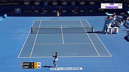 Azarenka vs Stephens Ao 2013 Highlights 720p