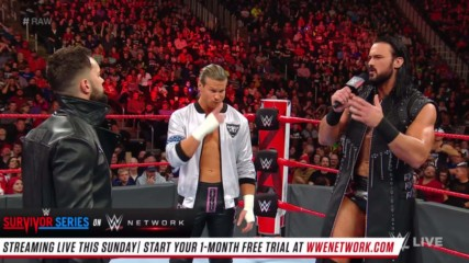 Finn Bálor interrupts Drew McIntyre & Dolph Ziggler: Raw, Nov. 12, 2018