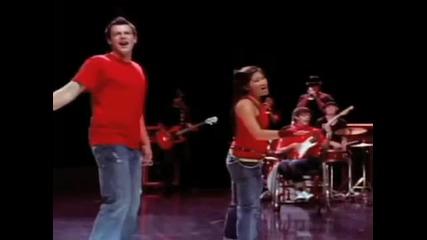 Кастинг за Glee Cory Monteith on His Singing Shower Scene