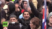 UK: Far-right protesters brawl with police in Dudley