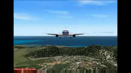 Лудо Кацане С Airbus A320 !!!