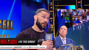 Rey Mysterio engages Roman Reigns in a war of words prior to their Hell in a Cell Match: SmackDown, June 18, 2021