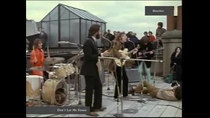 Beatles - Don't Let Me Down (1969) Hq