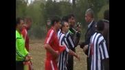 Караница към съдията на селски футболен мач