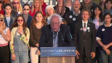 USA: Sanders 'disturbed but not surprised' by Clinton's no-show for Cali debate