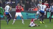 Късен изравнителен гол за Нюкасъл срещу Манчестър Юнайтед