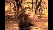Celine Dion - Because You Loved Me lyrics