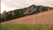 Female Parkour - Colorado Parkour Street Team - Carolynn Grigsby - 2009 Sampler