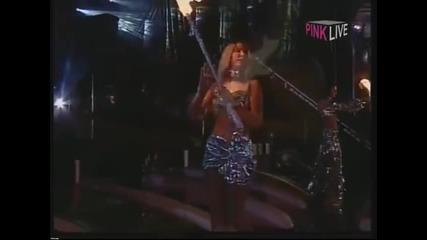 Ceca - Uvod, Intro - (LIVE) - (Marakana) - (TV Pink 2002)