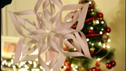 Зимна украса: Триизмерна снежинка