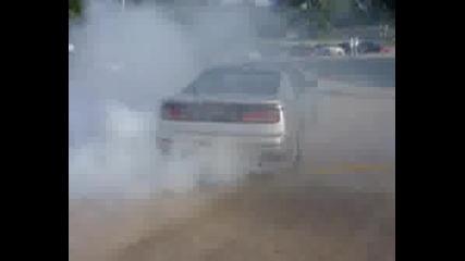 Nissan 300zx Burnout