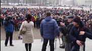 Belarus: Protesters rally against new import regulations in Minsk