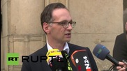 Germany: Facebook should delete 'inflammatory content' - Justice Minister Maas