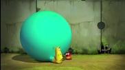Пърдящата ларва - Анимация