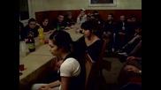 Среща на Христо Димитров с ученици от Средношколско общежитие-варна