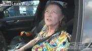 60 годишна жена на драг с Mercedes C 63
