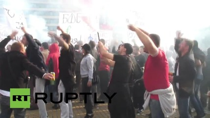 Bulgaria: CSKA Sofia fans shutdown Bulgaria's capital