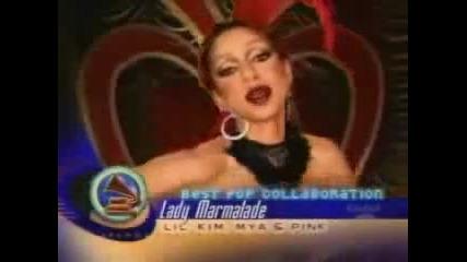 Christina Aguilera Grammy Wins (2000 - 2007)
