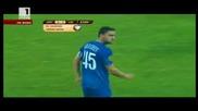 Владо Гаджев гол от 30 метра! Левски - Лил 2 - 1 (2 - 2) 04.11.2010