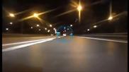 Шофьор на Мерцедес C63 A M G vs. Полиция