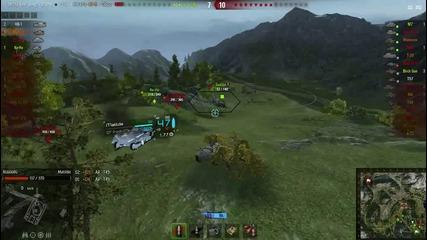 World of tanks matilda 1vs7 Bg666bg