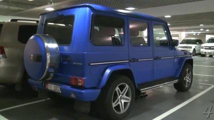 Matte Blue Mercedes G55 Amg