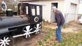 Необичайно барбекю парен локомотив!