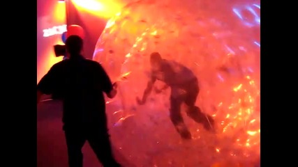 Zac 3.0- Zachary Levi Birthday Party in a Hamster Ball Blast