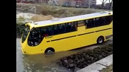 Плаващ автобус !