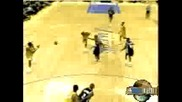 Kobe Bryant dunks on Jackson