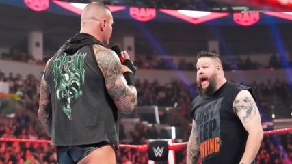 Kevin Owens interrupts Randy Orton's apology to Edge: Raw, Feb. 24, 2020